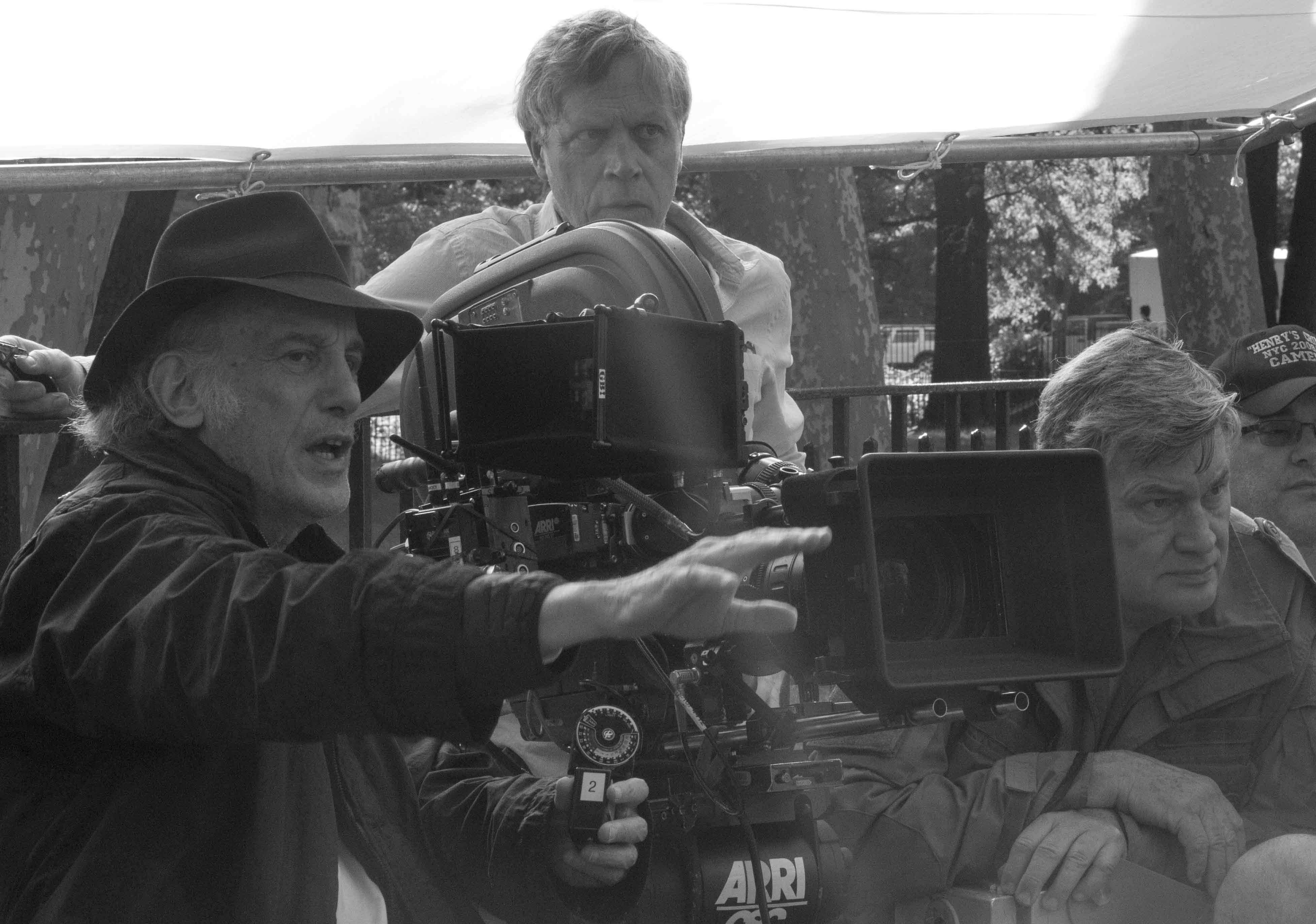 Edward Lachman and Todd Haynes during the filming of Wonderstruck - Angénieux lens © Mary Cybulski