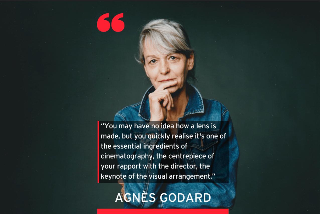 AGNÈS GODARD'S PERSPECTIVE AS A DOP