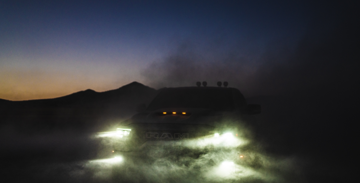 Capturing the wild with EZ2 for the new Ram 1500 TRX