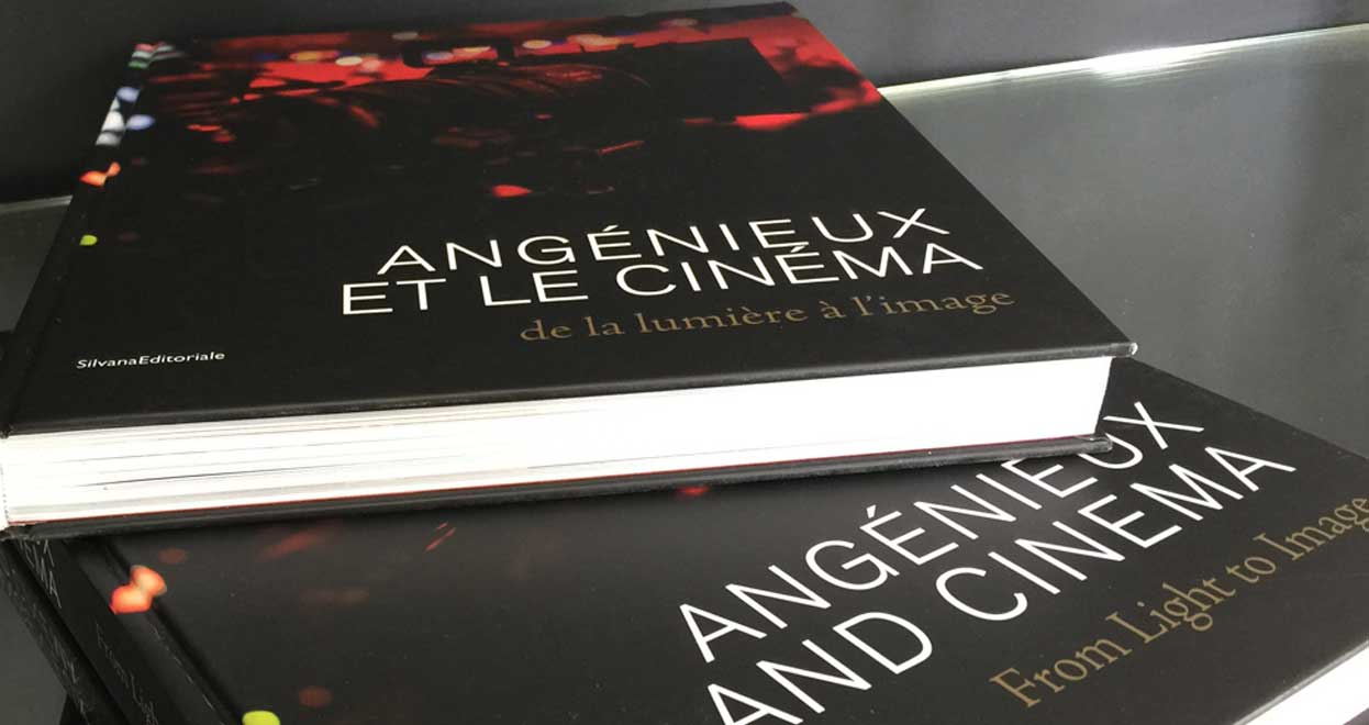 "Soon in book stores ""Angénieux and Cinema, from Light to Image""!"