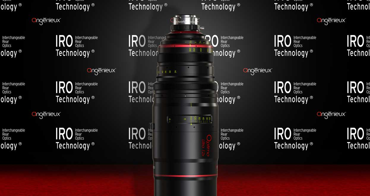 The IRO Technology by Angénieux : an innovative lens design for different lens configurations